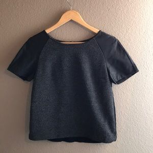 EXPRESS - distressed blouse